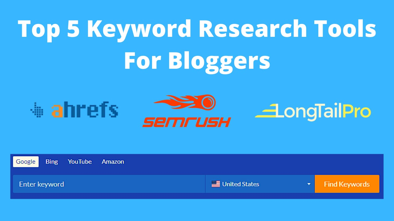 Keyword Research Tools For Bloggers