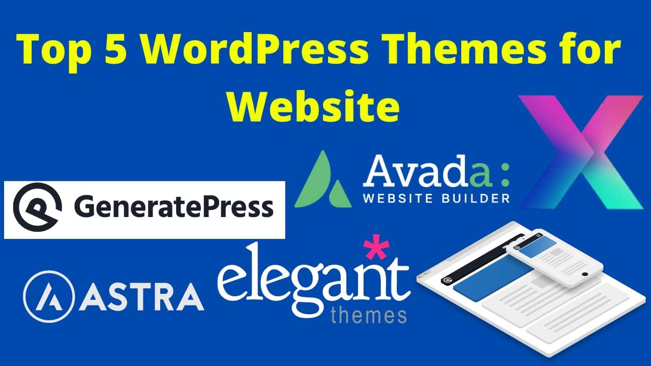 WordPress Themes for Website